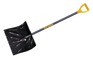 Ames-True Temper True Temper® 18 in. Snow Shovel with Steel Handle A1627200 at Pollardwater