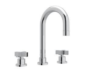 Rohl Modern™ 1.2 gpm Double Cross Handle Widespread Faucet Mixer RBA108X2