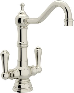 Rohl Perrin & Rowe® 1.8 gpm Double Lever Handle Bar Faucet RU47592
