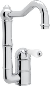 Rohl Perrin & Rowe® Country Kitchen 1-Hole Deckmount Bar Faucet with Single Lever Handle RA360865LP2
