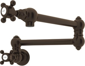 Rohl Italian Country Kitchen Pot Filler with Double Cross Handle RA1451XM2