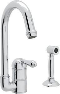 Rohl Perrin & Rowe® Country Kitchen 1-Hole Deckmount Bar Faucet with Single Lever Handle RA360665LMWS2