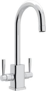 Rohl Contemporary™ 1-Hole Deckmount Bar Faucet with Double Lever Handle RU4209LS2