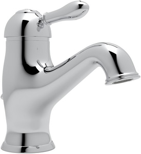 Rohl Cisal 1-Hole Deckmount Lavatory Faucet with Single Metal Lever Handle RAY51LM2