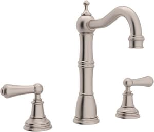 Rohl Perrin & Rowe® 3-Hole Deckmount Bar Faucet with Double Lever Handle RU4769L2