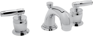 Rohl Michael Berman 3-Hole Deckmount Widespread Lavatory Faucet with Double Metal Lever Handle RMB1929LM2