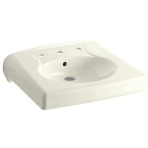 Kohler Brenham™ Wall Mount Lavatory Sink with 8 in. Centerset Faucet K1997-96