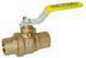 Red-White Valve 600 psi Sweat Brass Full Port Ball Valve R5549AB