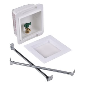 Oatey Copper Fire-Rated Sweat Icemaker Outlet Box O39117