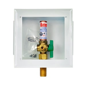 Oatey Ice Maker Box With Quarter Turn Valve Sweat O39140