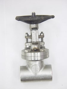 Vogt Valves 800# Stainless Steel Socket Weld Bolted Bonnet Outside Stem and Yoke Gate Valve VSW12401