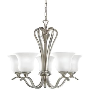 Kichler Lighting Wedgeport™ 17-1/2 in. 100 W 5-Light Incandescent Medium Chandelier KK2085