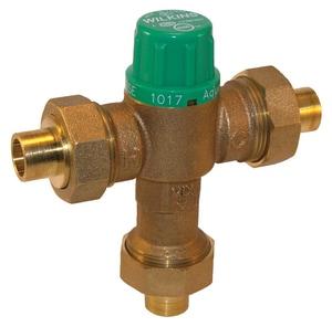 Wilkins Regulator 5-1/2 in. FNPT Thermostat Mix Valve WZW1017XLF
