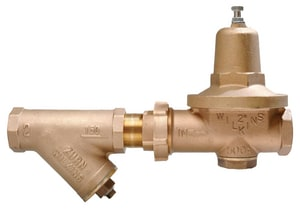 Wilkins Regulator Model 500XL 300 psi Cast Bronze, EPDM and Buna-N FNPT Pressure Reducing Valve W500XLYSBR