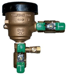 Wilkins Regulator FNPT Spill Residential Pressure Vacuum Breaker W460XL