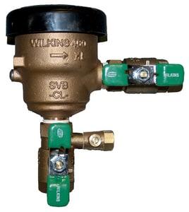 Wilkins Regulator Spill Residential Pressure Vacuum Breaker FNPT W460XL
