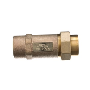Wilkins Regulator FNPT x Union Dual Check Valve WUFX1F700XL