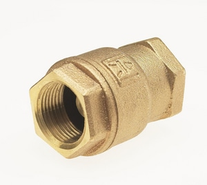 Milwaukee Valve Low Lead Bronze 250# WOG Tfe Spring Check Valve MUP548T