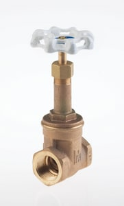 Milwaukee Valve Ultra Pure™ 300# Threaded Bronze Rising Stem Bonnet Gate Valve MUP148