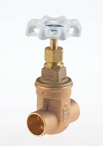 Milwaukee Valve Ultra Pure™ 125# Bronze Sweat Non-Rising Valve Stem Threaded Bonnet Gate MUP115