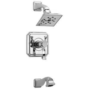 Brizo Virage™ Thermostat Tub and Shower Trim with Single Lever Handle DT60430