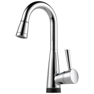 Delta Faucet Venuto® 1-Hole Tap Bar Preparation Faucet with Single Lever Handle D64970LF