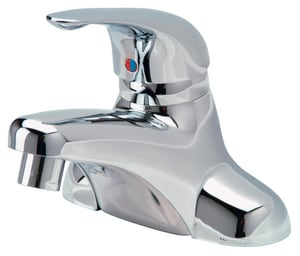 Zurn Industries TempGard® Single Lever 4 in. Center Set Lavatory Integral Spout ZZ7442XLFC