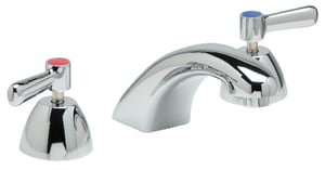 Zurn AquaSpec® 0.5 gpm Double Lever Handle Widespread Lavatory Cast Spout Faucet in Polished Chrome ZZ831R1XL3M