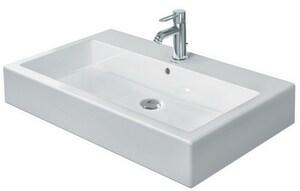 Duravit USA Vero™ 1-Hole Lavatory Sink in White Alpin D04548000271