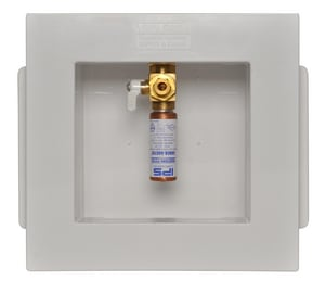Weld-On Freeze Resistant-12 Icemaker Outlet Box with Hammer Arrestors I82417