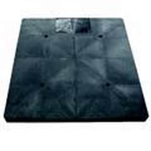 Carson Industries 33 x 33 x 3 in. ECO Pad Black Pearl C93120010