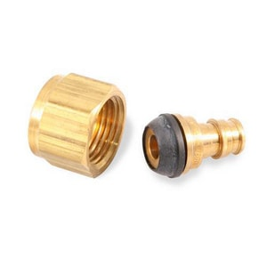 Uponor North America ProPEX® 1/2 x 1/2 in. Brass PEX Swivel Faucet Adapter ULF4655050