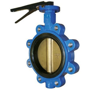FNW 712 Series Ductile Iron EPDM Locking Lever Handle Butterfly Valve FNW712E at Pollardwater