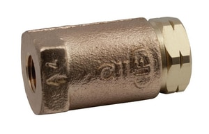 Apollo Conbraco 400# Bronze Threaded Ball Check Valve A61LF10