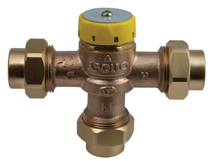 Apollo Conbraco 1 in. 150# Bronze CPVC x PEX Mix Valve A34ALF215S