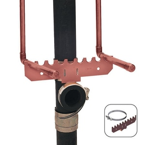 Holdrite Copper Plate Bracket Kit With Notches H110SD