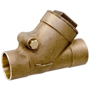 Nibco 125# Bronze Sweat PTFE Check Valve NS413YLF