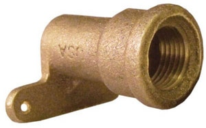Elkhart Products Corporation 1/2 x 1/2 in. Cast Copper x Female High Ear Adapter CCFHEALFD