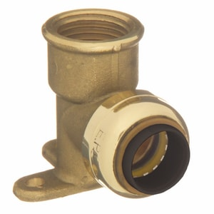Elkhart Products Corporation 1/2 in. Copper x Female 90 Degree Tectite Elbow CTFDE9LFD