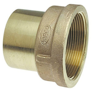 Elkhart Products Corporation 3/4 x 1/2 in. FTG x FIP Cast Copper Adapter CCFFALFFD