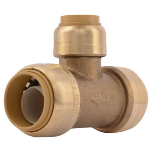 Sharkbite Push Brass Tee SU4