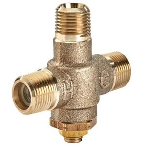 Powers Process Controls 1/2 in. Thermostatic Tempering Valve PLFE48000D