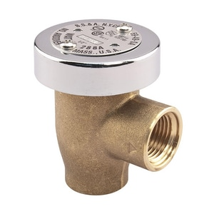 Watts Female Threaded Brass Hot and Cold Vacuum Breaker WLF288A