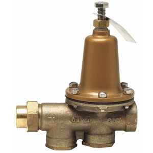 Watts 300 psi 160# EPDM Female Threaded Water Pressure Reducing Valve WLF25AUBHPZ3
