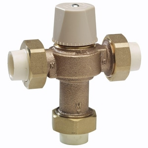 Watts Lead Law Compliant Thermostat Mixing Valve WLFMMVM1CPVC