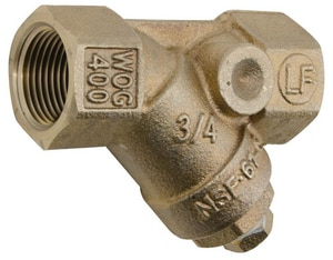 Watts 400 psi Bronze Female Threaded Wye Strainer WLF777SI