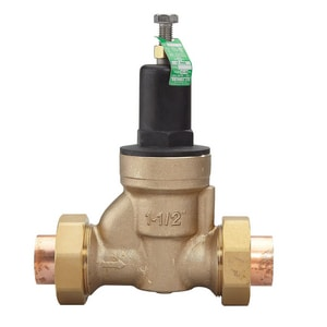 Watts 300 psi 180# Female Threaded x Socket Water Pressure Reducing Valve WLFN45BDUS