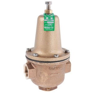 Watts 300 psi 160# Female Threaded Copper Water Pressure Reducing Valve WLF223HP