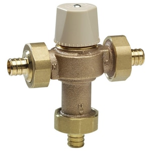 Watts Crimped Compliant Thermostat Tempering Valve WLFMMVM1PEX