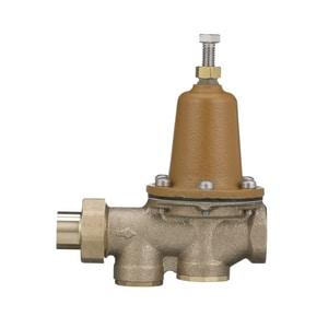 Watts 300 psi Solder Union x NPT Female Copper Alloy Water Pressure Regulator Valve WLF25AUBSZ3